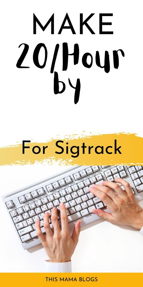 Sigtrack Review: Best Data Entry Work From Home Opportunity?