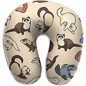 Ferret Travel Neck Support Pillow