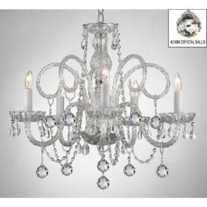 Bring A Signature Look To Your Living Space By Choosing This Empress Crystal Chandelier Crystal Chandelier Swarovski Crystal Chandelier Candle Style Chandelier