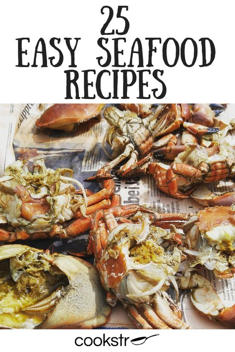 These easy fish and shellfish recipes are perfect for any occasion!