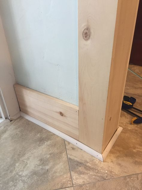 Caulking Trim for a Seamless Look - Midcounty Journal Baseboard Trim, Baseboards, Baseboard Ideas, Baseboard Styles, Remodeling Mobile Homes, Home Remodeling, Home Improvement Projects, Home Projects, Moldings And Trim