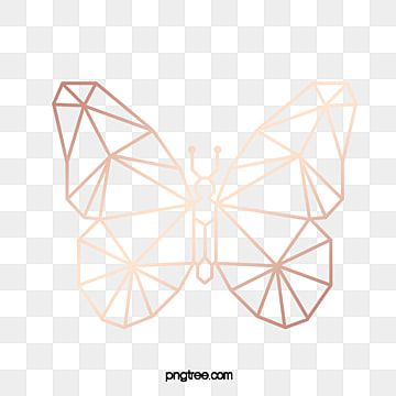 Butterfly Abstract Rose Gold Pattern Butterfly Geometric Abstract Png Transparent Clipart Image And Psd File For Free Download Gold Geometric Pattern Gold Clipart Gold Pattern