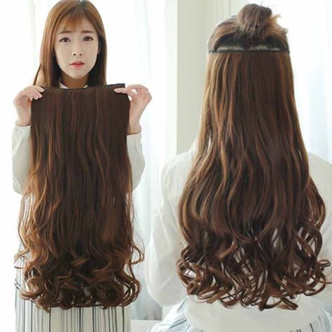 24inch 120g False Hair Synthetic curly Nature