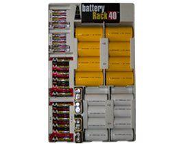amazon com battery rack organizer for