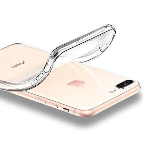Cover iPhone 8 Plus Trasparente Silicone TPU Morbida Custodia
