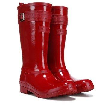 Sperry Walker Atlantic Rain Boot Red