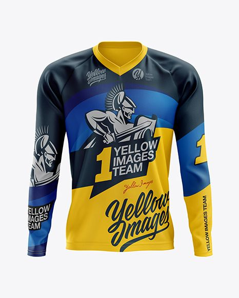 Download Men S Mtb Trail Jersey Ls Mockup Front View In Apparel Mockups On Yellow Images Object Mockups Clothing Mockup Design Mockup Free Mockup