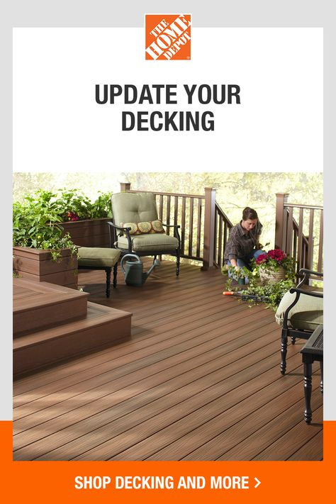 Bring on a space to unwind and relax with help from The Home Depot. Get inspired with our expert ideas and how-to guides. Whether you are building a deck from scratch or replacing old boards, we've got you covered. Tap to browse everything you need to get started on your Spring projects at The Home Depot.​