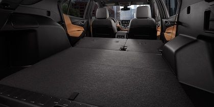 2019 Equinox Small Suv Interior Photo Of The Cargo Space With Rear