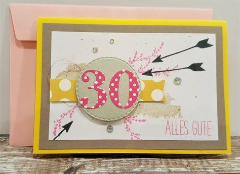 Gluckwunschkarten Karte Zum 30 Geburtstag Geburtstagskarte 30