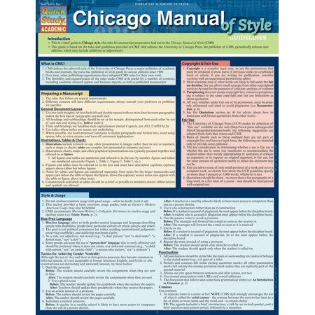 Chicago Manual Of Style Guidelines Walmart Com In 2021 Online Education Study Guide Importance Of Time Management
