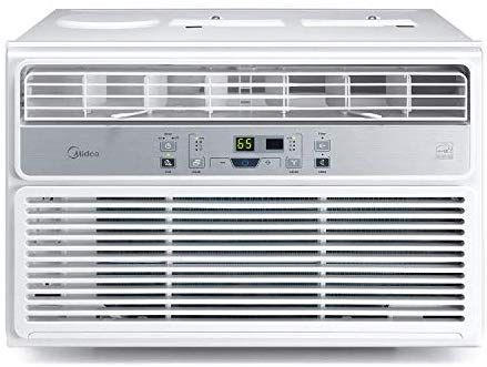 Midea Maw12r1bwt Window Air Conditioner 12000 Btu Easy Police Ac Cooling Dehumidifier And Window Air Conditioner Air Conditioner Btu Window Air Conditioners