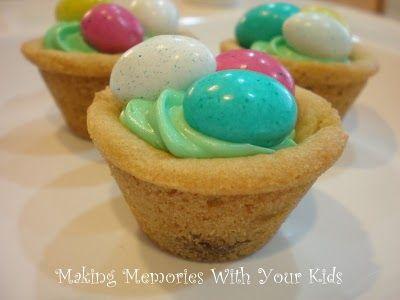 Easter Egg Hunt Cookies