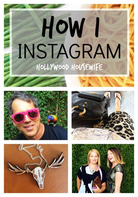 How I Instagram (or, how to edit your phone photos quickly) via Hollywood Housewife