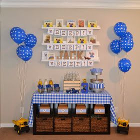We read Little Blue Truck & Little Blue Truck Leads the Way at least four times a week, so it was a no-brainer when it came to pic. 2nd Birthday Boys, 40th Birthday Quotes, 70th Birthday Gifts, Happy Birthday Images, Boy Birthday Parties, Birthday Ideas, Birthday Blast, Birthday Beer, Wife Birthday