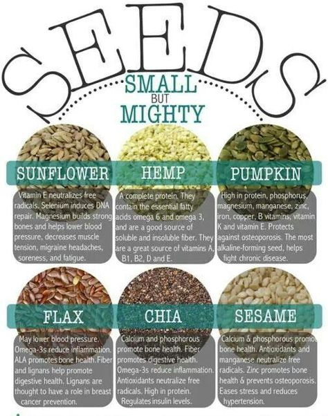 Add seeds to your pantry and add to your cooking and salads - small but mighty…