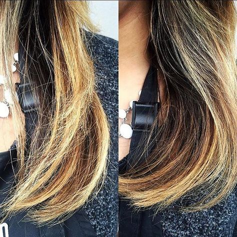 Before and After of Aveda\u0027s newest product Damage Remedy
