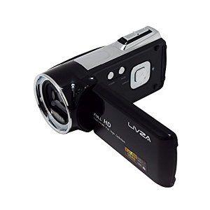 LIVZA デジタルビデオカメラ LIV-SCDV フルHD デジタルムービーカメラ 500万画素 パノラマ HDMI対応 FULL HD 2.7インチ TFTカラー液晶 録画 顔検出 笑顔検出
