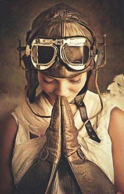 Avion Chica Piloto