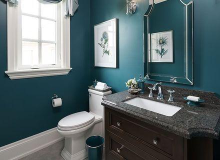 Dark Teal Bathroom Teal Bathroom Decor Teal Bathroom Bathroom