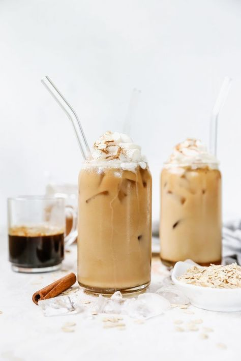 Latte Helado Canela Avena Leche Latte - Latte Helado Canela Avena Leche Latte { You are in the right place for diy surgical mask free - Iced Latte, Iced Coffee, Coffee Drinks, Coffee Art, Cinnamon Coffee, Milk Recipes, Coffee Recipes, Flour Recipes, Nutella Recipes