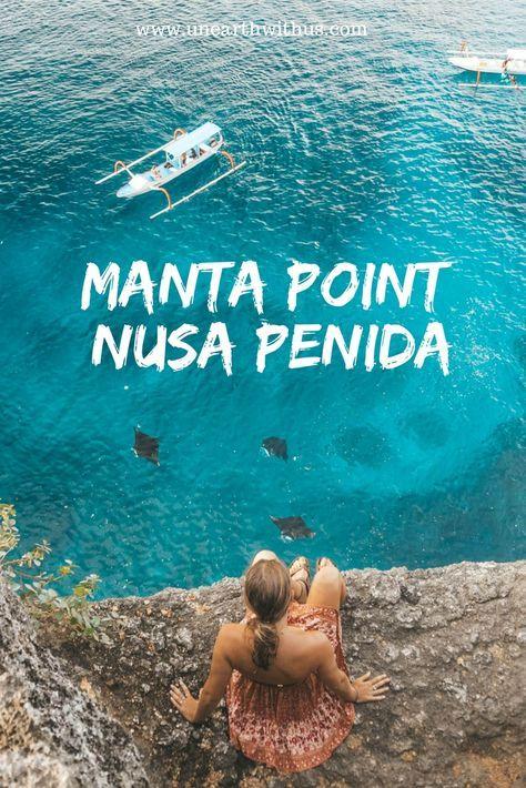 Swim with Giant Manta Rays in Bali!!