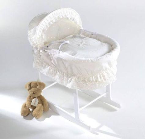 free p/&p not basket moses basket dressing bedding cover pink little princess