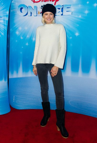 Malin Akerman attends as Disney On Ice Presents 'Dare To Dream' at Staples Center.