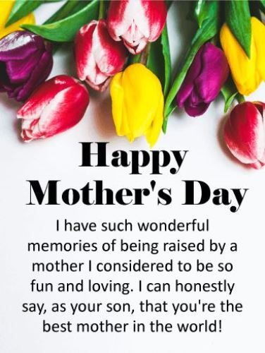 Mothers Day Wishes Sayings Happy Mothers Day Wishes Mother Day Wishes Happy Mother S Day Card