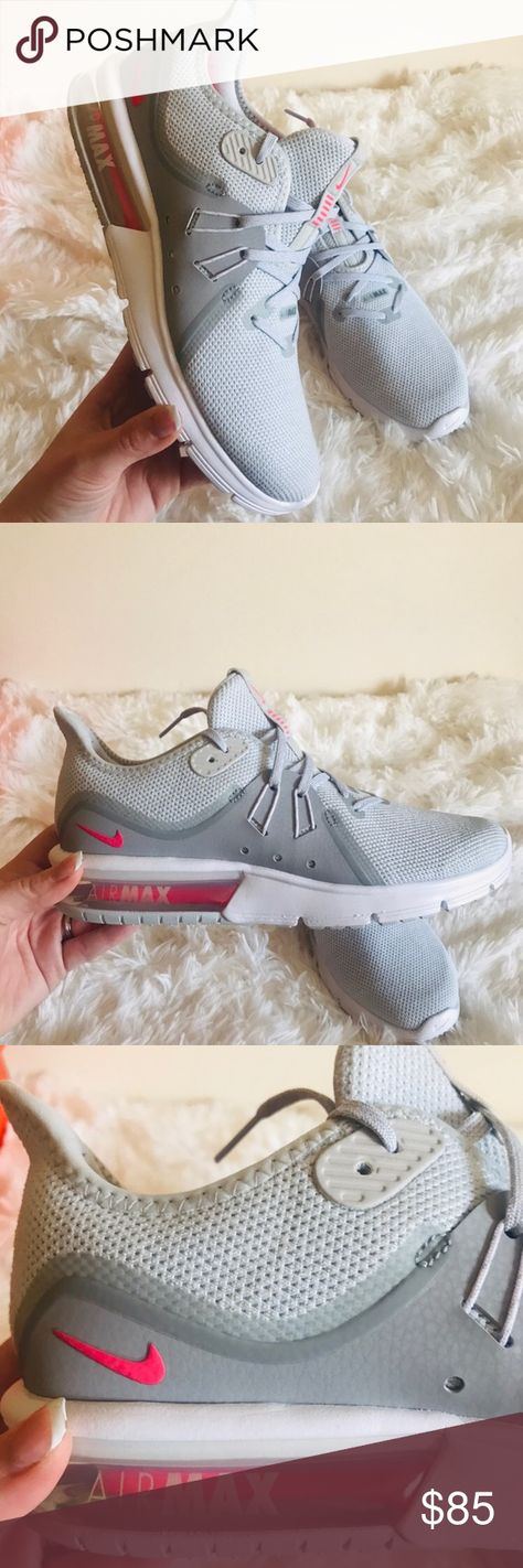 Nike – Wmns Air Max Sequent 3 Womens Shoes Pure PlatinumRacer Pink Wolf Grey