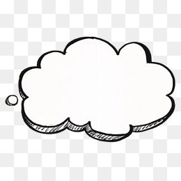 Cloud Decorations Cloud Drawing Overlays Transparent Graphic Design Mockup