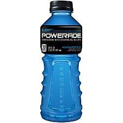 Powerade Liquid Hydration Energy Drink Mountain Blast Berry 20 Oz Sports Drink Drinks Energy Drinks