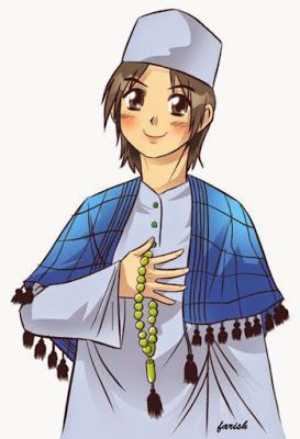 12 Kartun Muslim Soleh Animasi Kartun Gambar Karakter