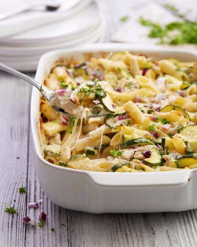 Chicken Pasta Tray Bake Aldi Uk Baked Chicken Pasta Recipes Aldi Recipes Baked Dinner