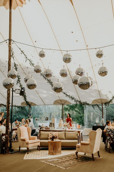 Trendy Modern Wedding Reception Disco Balls in Austin, Texas - Elopement Wedding Photographer for adventurous couples. Modern Wedding Reception, Camp Wedding, Tent Wedding, Elope Wedding, Boho Wedding, Elopement Wedding, Wedding Ceremony, Wedding Receptions, Modern Wedding Ideas