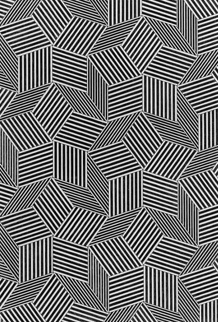 I like this art work because of the pattern. This artwork has a nice pattern and i like the way it is an optical illusion