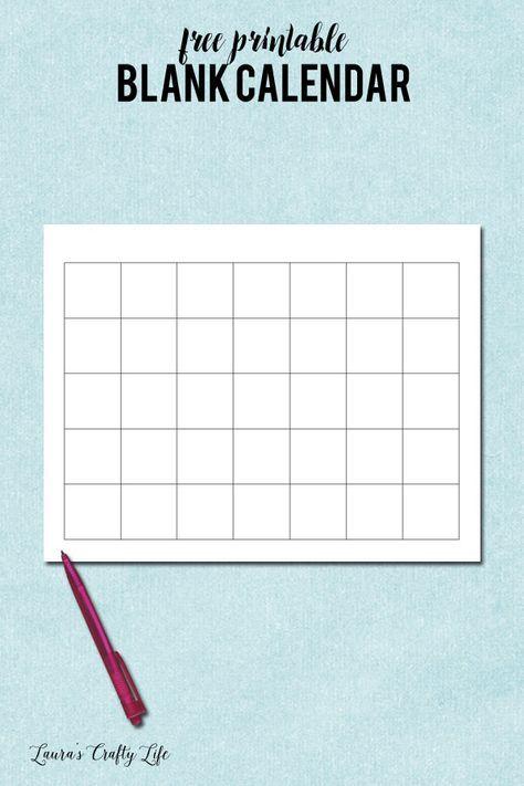 Monthly Meal Planning  Printable Blank Calendar Blank Calendar