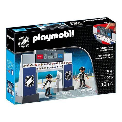 Amazon Com Playmobil 5594 Ice Hockey Arena Toys Games Hockey Arena Playmobil Nhl Logos