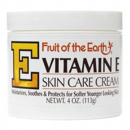 The Best Skin Cream Fruit Of The Earth Vitamin E Skin Care Cream Is Perfect For Stretch Marks Dark Spots And Sca Skin Care Cream Skin Cream Best Skin Cream