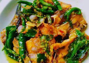 Resep Ikan Asin Sambal Ijo Oleh Dwi Ayu Rahmayanti Resep Resep Masakan Malaysia Resep Ikan Masakan Asia