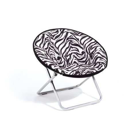Magnificent Mainstays Faux Suede Moon Chair Zebra In 2019 Chair Cjindustries Chair Design For Home Cjindustriesco