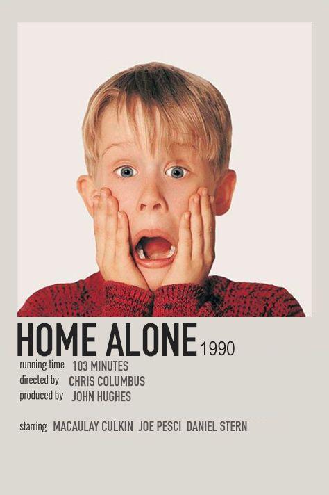 Alternative movie poster of Home Alone (1990)