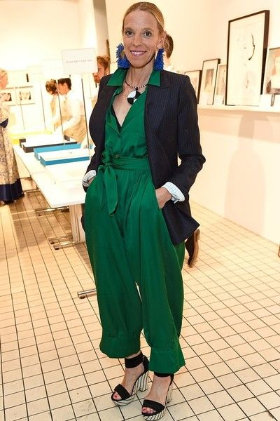 Pop It Over an Evening Jumpsuit - Chic Ways To Wear Blazers for Women Over 50 - Photos