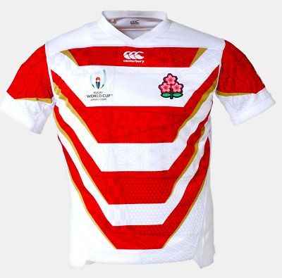 Advertisement Ebay Japan Rugby 2019 New Jersey Men S Home Alternate Released On July 10 2019 Rugby Jersey Rugby World Cup