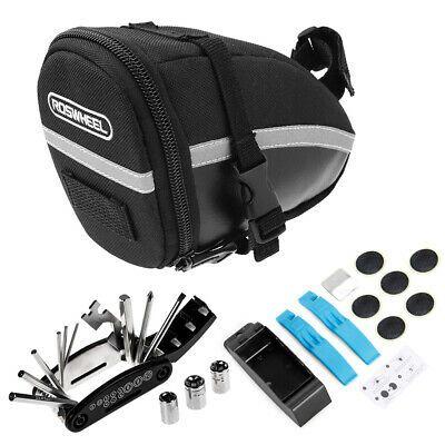 Details About Bike Repair Tool Kits Saddle Bag Cycling Seat Pack