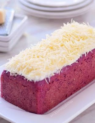 Cake Ubi Kukus Keju Kue Lezat Makanan Manis Makanan Ringan Manis