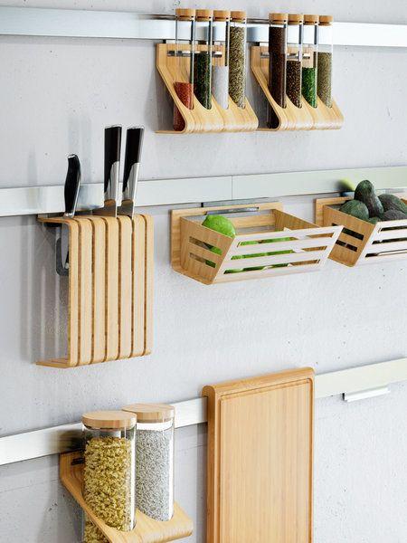 20 Ideas Para Poner Orden En La Cocina Decoracion De Unas Organizar Cocinas Pequenas Muebles