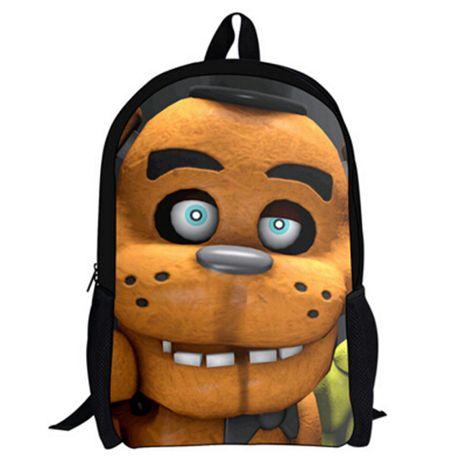 16Inch Five Nights At Freddy Backpack Customized Mochila Feminina Free Shipping Children Travel Bag School Bag Teenage A033