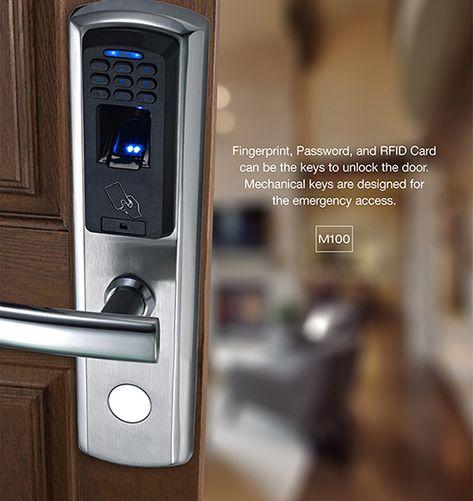Digital Electronic// Code Keyless Keypad Security Entry Door Lock Pro /&Key Tags