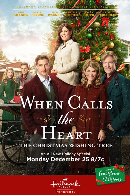 When Calls The Heart The Christmas Wishing Tree A Hallmark Channel Original Countdown To Chris Hallmark Channel Hallmark Christmas Movies Christmas Movies